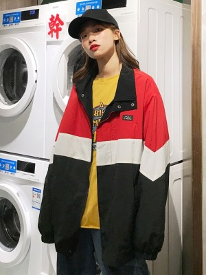 Choi Seung Kwon Tricolor Oversize Jacket 00010