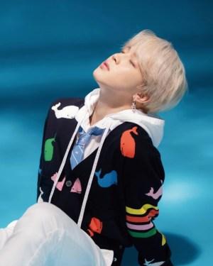 Rainbow Whales Black Cardigan   Jimin – BTS