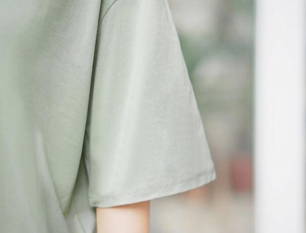 Large Collar Asymmetrical Button Up Blouse