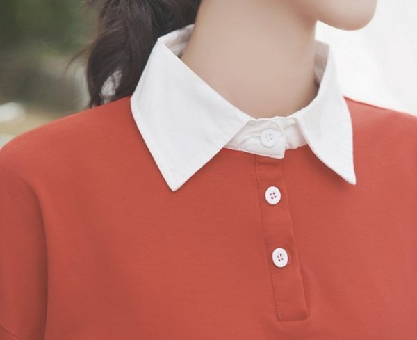 Red Polo With Bear Print