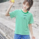 Round Neck Striped T-Shirt