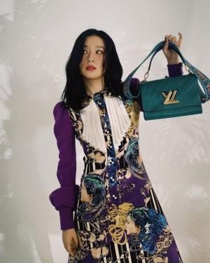 Baroque Style Double Breasted Dress | Seulgi – Red Velvet