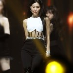 Sleeveless Corset Jumpsuit | Seulgi – Red Velvet
