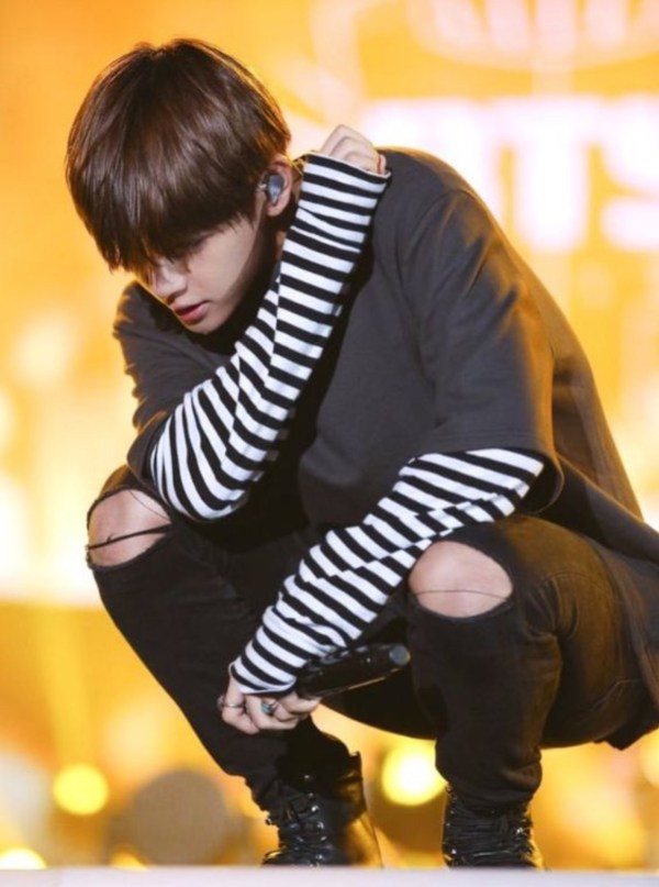 Oversized Black Shirt with Fake Sleeves Shirt | Taehyung – BTS