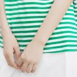 V-Neck Striped T-Shirt
