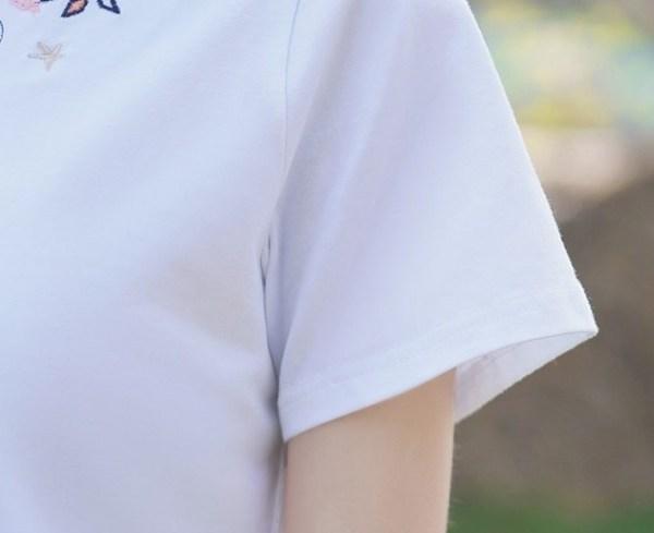 Vintage Embroidered T-Shirt