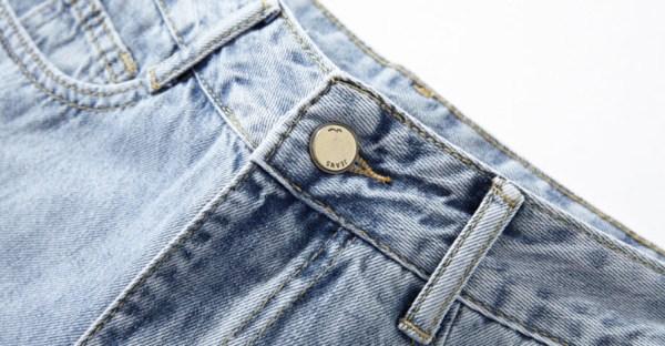 High Waist Straight Cut Ripped Jeans | IU