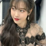 Black Collar And Cuff In Full Laced Dress | IU – Hotel Del Luna