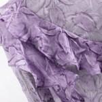 Nehru Purple Ruffled Blouse | IU