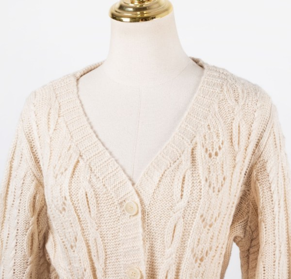 Tie Belted Knitted Cardigan | IU
