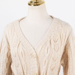 Tie Belted Knitted Cardigan   IU