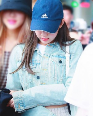 Blue Cropped Denim Jacket | Jennie – BlackPink