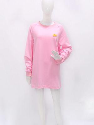 Lisa – Blackpink Pink Round Neck Pullover (9)
