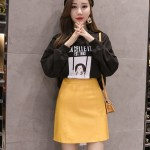 Yellow Leather Mini Skirt | Seulgi – Red Velvet