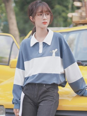 Blue Little Rabbit Sweater