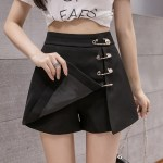 Black Mini Skirt With Pins | Chaeyoung- Twice