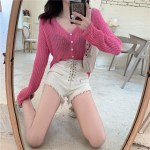 Yellow Knitted Cardigan | Hwasa – Mamamoo