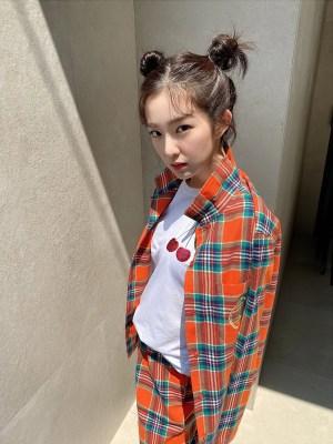 Casual Plaid Shirt | Irene- Red Velvet