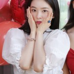 White Puffed Sleeve Top | Irene- Red Velvet