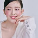 White Wool Cardigan   Irene- Red Velvet
