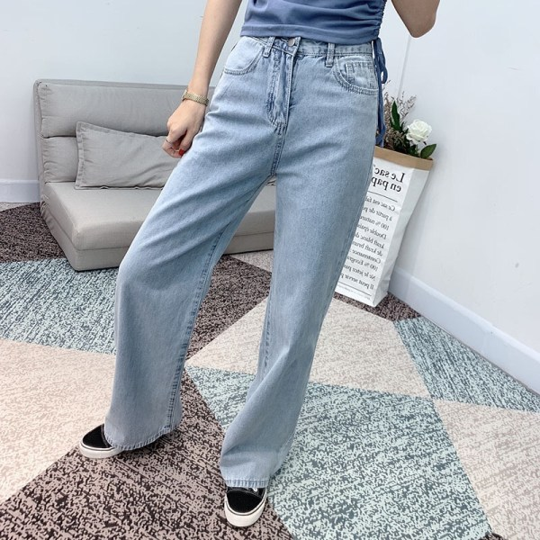 Wide-Leg Denim Jeans| Jisoo – Blackpink