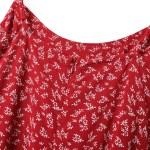 Red Floral Mini Dress | Joy – Red Velvet
