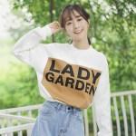 Lady Garden White Sweater