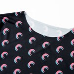 Tight Moon Print Shirt  | Lisa -BlackPink