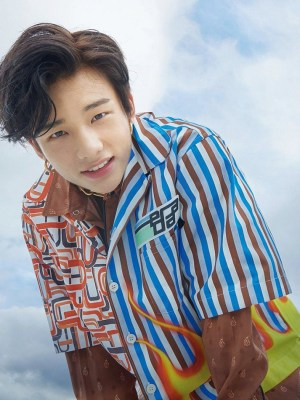 Multi Printed Collar Shirt  | Hyunjin – Stray Kids