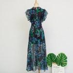 Long Floral Lace Dress  | IU – Hotel Del Luna