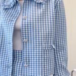 Blue Gingham Jacket | Jennie – BlackPink