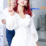 White Scalloped Mini Dress  | Jihyo- Twice