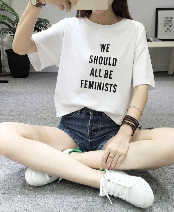 """We Should All Be Feminists"" T-Shirt 