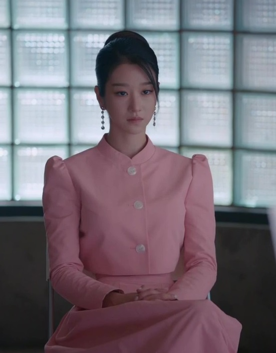 Pink Puffed Sleeve Top  | Ko Moon‑Young – It's Okay Not To Be Okay