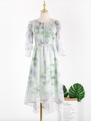 Ko Moon‑Young – It's Okay Not To Be Okay Puffed Sleeve Fairy Dress (3)