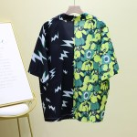 Floral and Lightning Printed Shirt | Kun – NCT