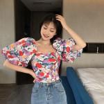 Floral Tie Back Top | Soojin – (G)I-DLE
