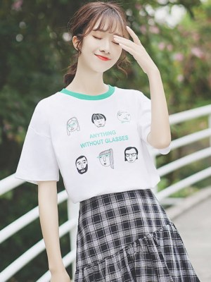 Anything Without Glasses T-Shirt (4)