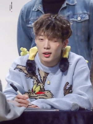 Running Cayote Blue Sweater | Bobby – iKON