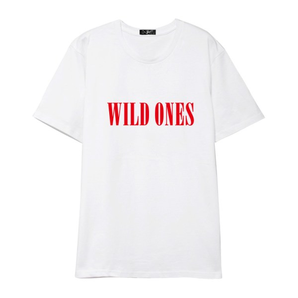 """Wild Ones"" White T-Shirt | Bobby – iKON"