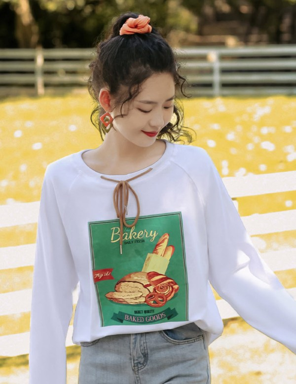 Bread Bakery Long Sleeve T-Shirt