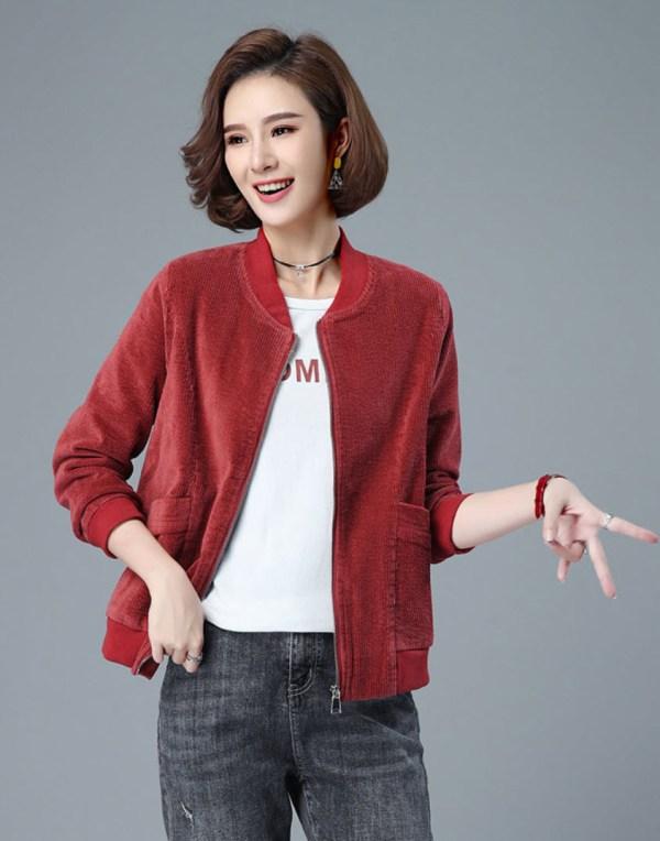 Red Bomber Jacket | Chanwoo – iKON