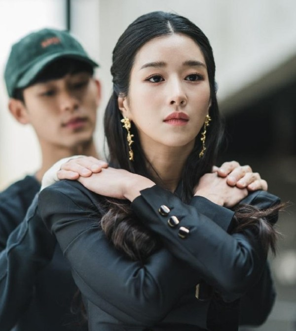 Black Suit Dress | Ko Moon‑Young – It's Okay Not To Be Okay