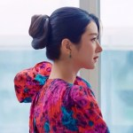 Crinkled Floral Printed Dress | Ko Moon‑Young – It's Okay Not To Be Okay