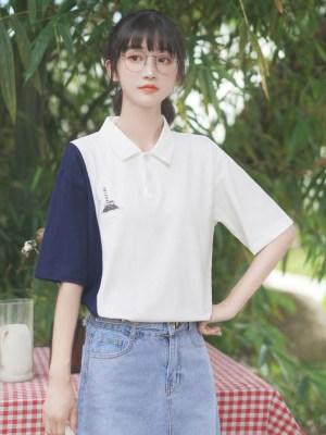 Lighthouse Island Printed Polo T-Shirt (6)