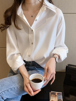 Shim Cheong – The Legend Of The Blue Sea White Polo Shirt (6)
