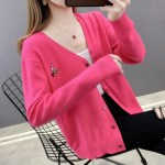 Bright Pink Cardigan | An Jeong‑Ha – Record Of Youth