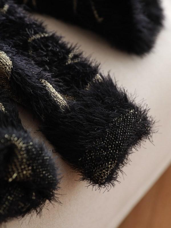 Star Patterned Black Sweater  | BamBam – GOT7