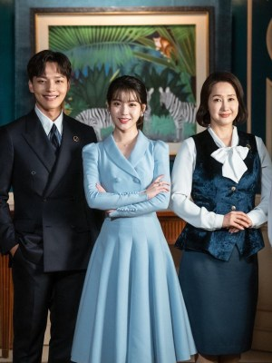 Blue Umbrella Skirt | IU – Hotel Del Luna