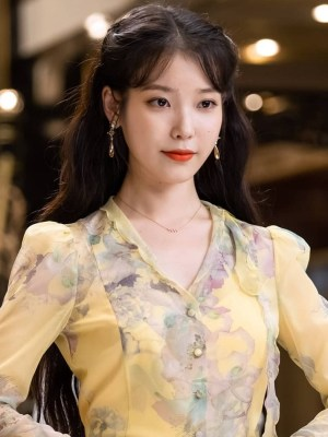 Yellow Chiffon Dress | IU – Hotel Del Luna